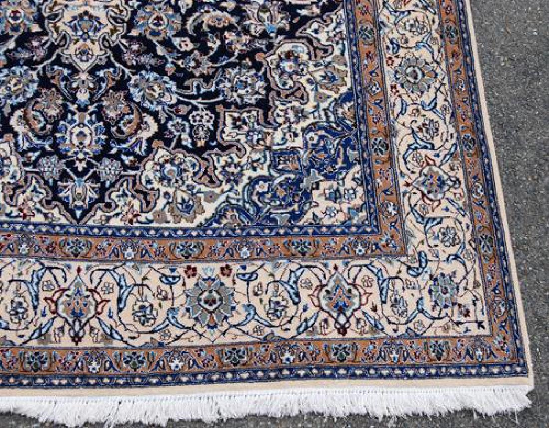 Simply Gorgeous Dark Toned Persian Nain With Silk - 4