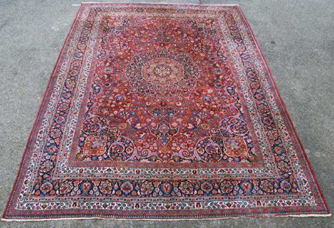 Absolutely Mesmerizing Semi Antique Persian Mashhad