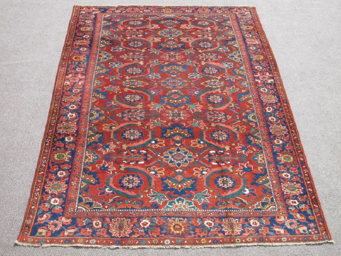 Stunning Soft Wool Pile Semi Antique Persian Bokhara