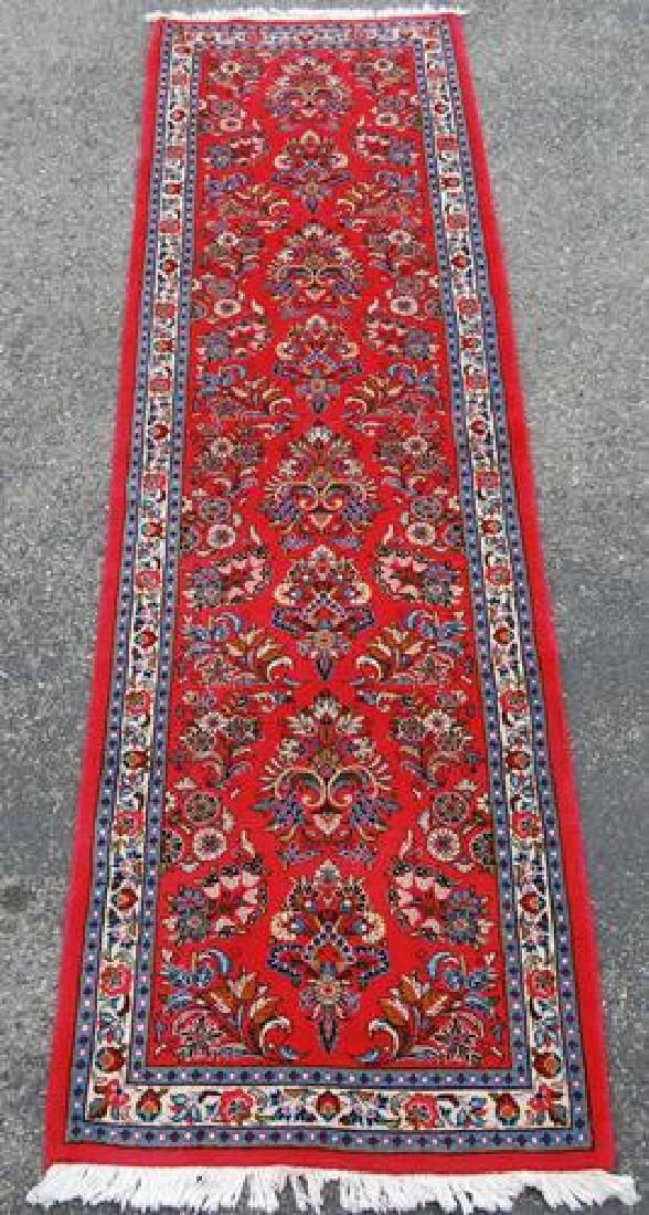 VERY GOGEOUS ALLOVER FLORAL DESIGN PERSIAN SAROUK RUG