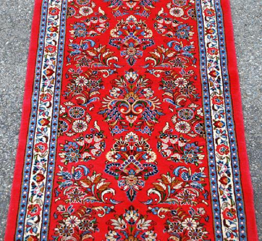 VERY GOGEOUS ALLOVER FLORAL DESIGN PERSIAN SAROUK RUG - 2