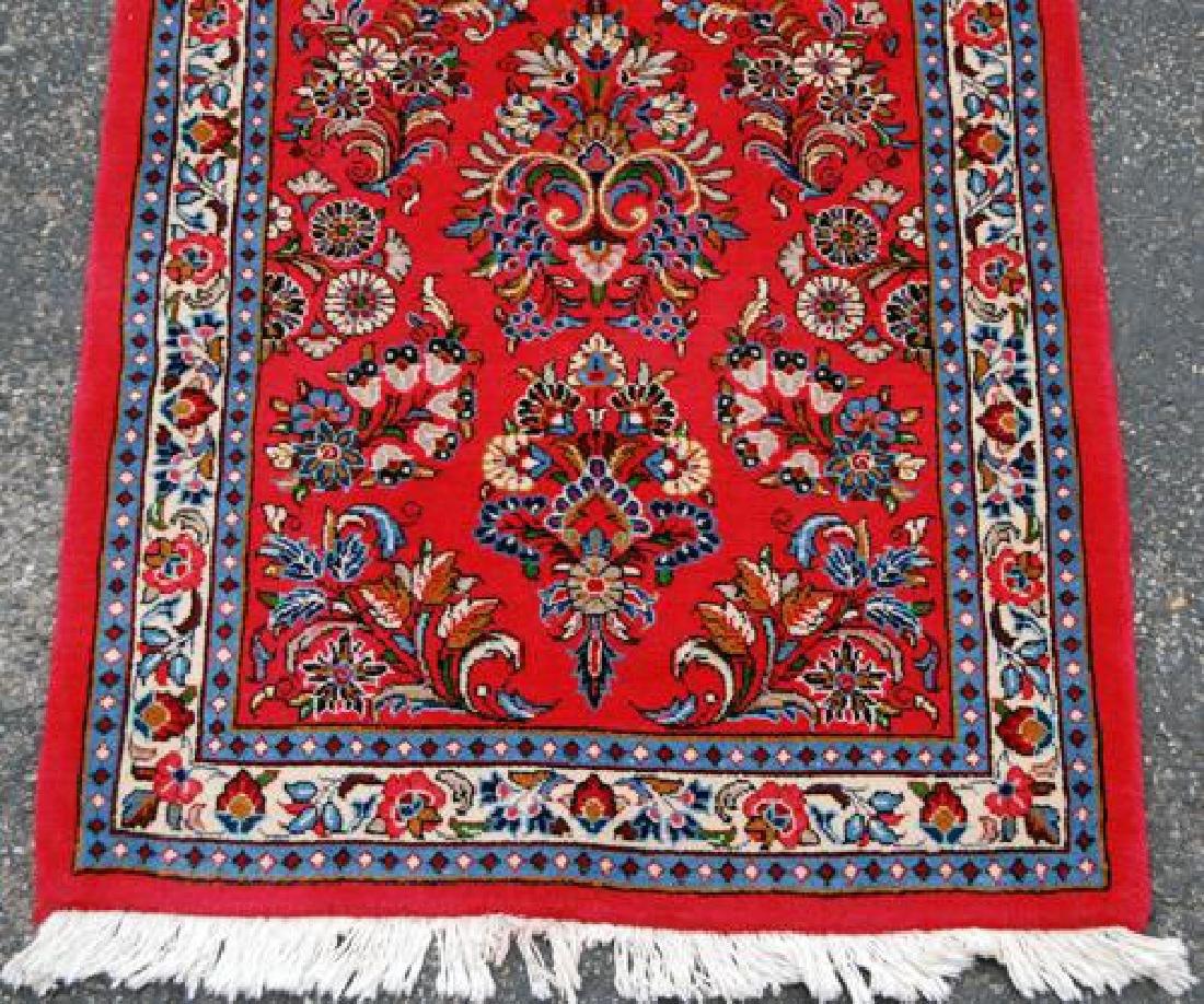 VERY GOGEOUS ALLOVER FLORAL DESIGN PERSIAN SAROUK RUG - 3