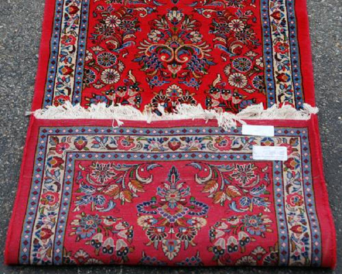 VERY GOGEOUS ALLOVER FLORAL DESIGN PERSIAN SAROUK RUG - 4