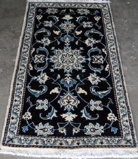 Fine Quality Handmade Wool/Silk Persian Nain 2x3
