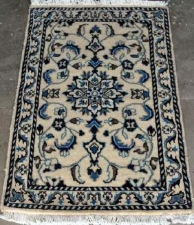 Nice Looking Hand woven Silk Blended Persian Nain 2x3
