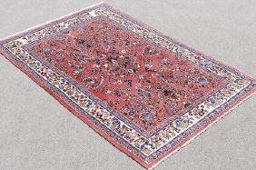 Hand Made Floral Medallion Persian Sarouk