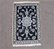 Magnificent Hand Woven WoolSilk Persian Nain 2x3