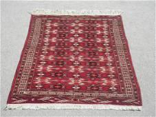 Lovely Hand Woven 45 X 64 feet Turkmen Rug