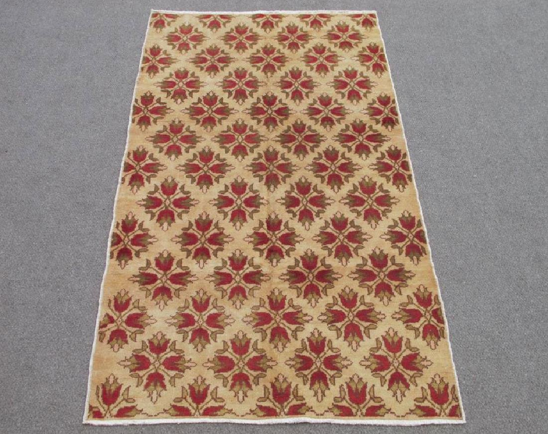Gorgeous Handmade Semi Antique Turkish Konya 5x9