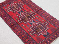 Very Collectible Semi Antique Wool on Wool Persian