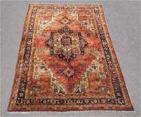 Charming Semi Antique Turkish Sivas Rug 7x10 ft