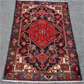 Finely Contrasted Beautiful Persian Hamedan 4x7 ft