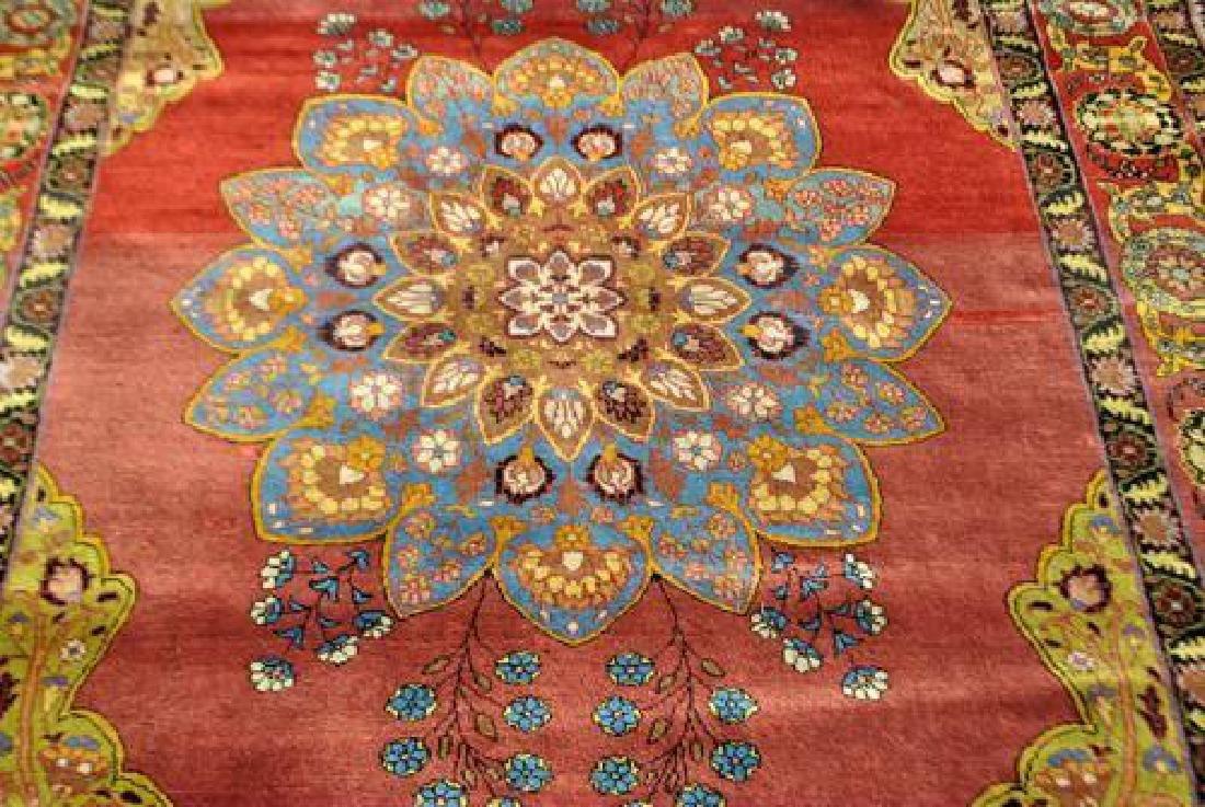 Simply Beautiful Rare Semi Antique Persian Tehran - 2