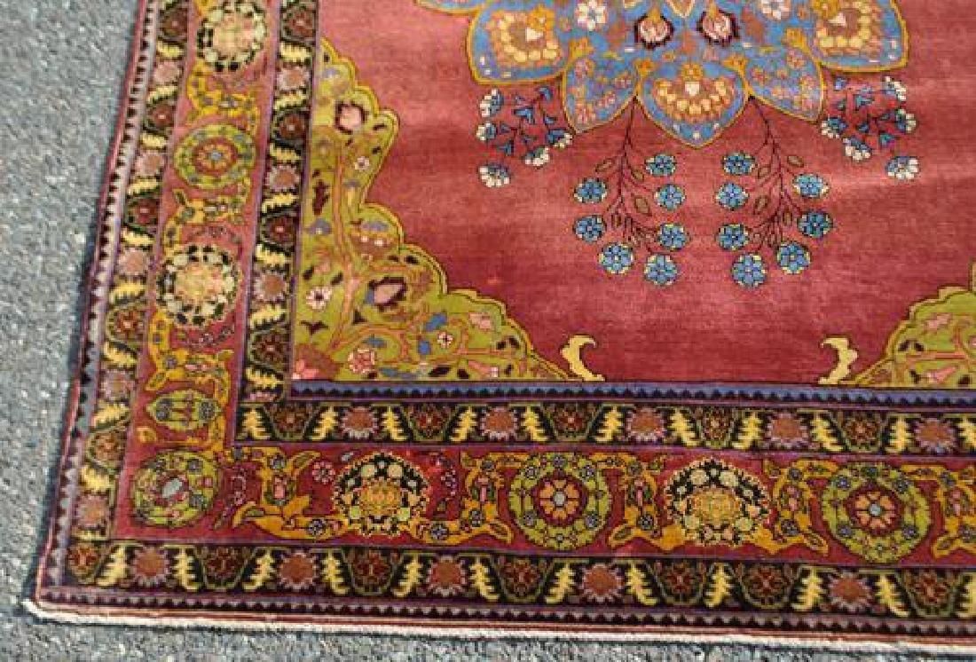 Simply Beautiful Rare Semi Antique Persian Tehran - 3