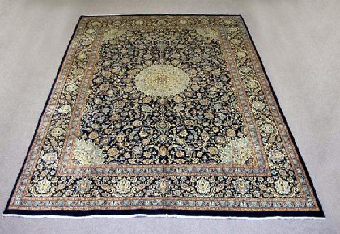 Magnificent Immensely Detailed Handmade Persian Kashmar