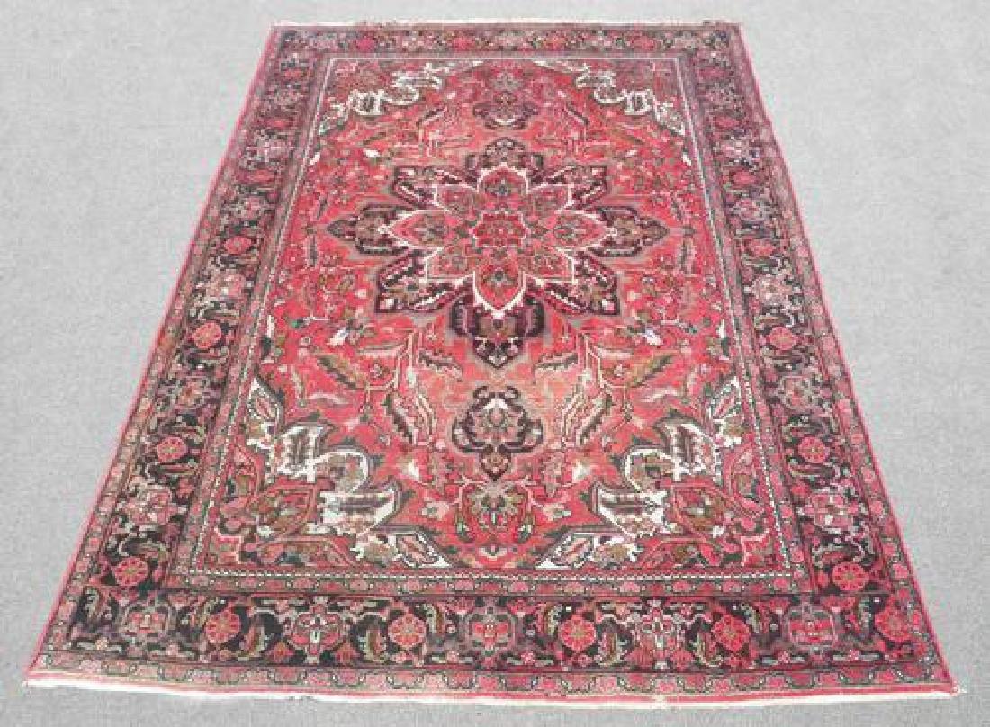 Collectible Sharabian Design Semi Antique Persian Heriz
