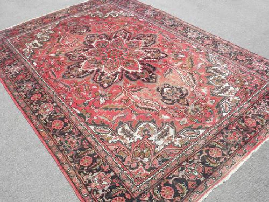 Collectible Sharabian Design Semi Antique Persian Heriz - 2
