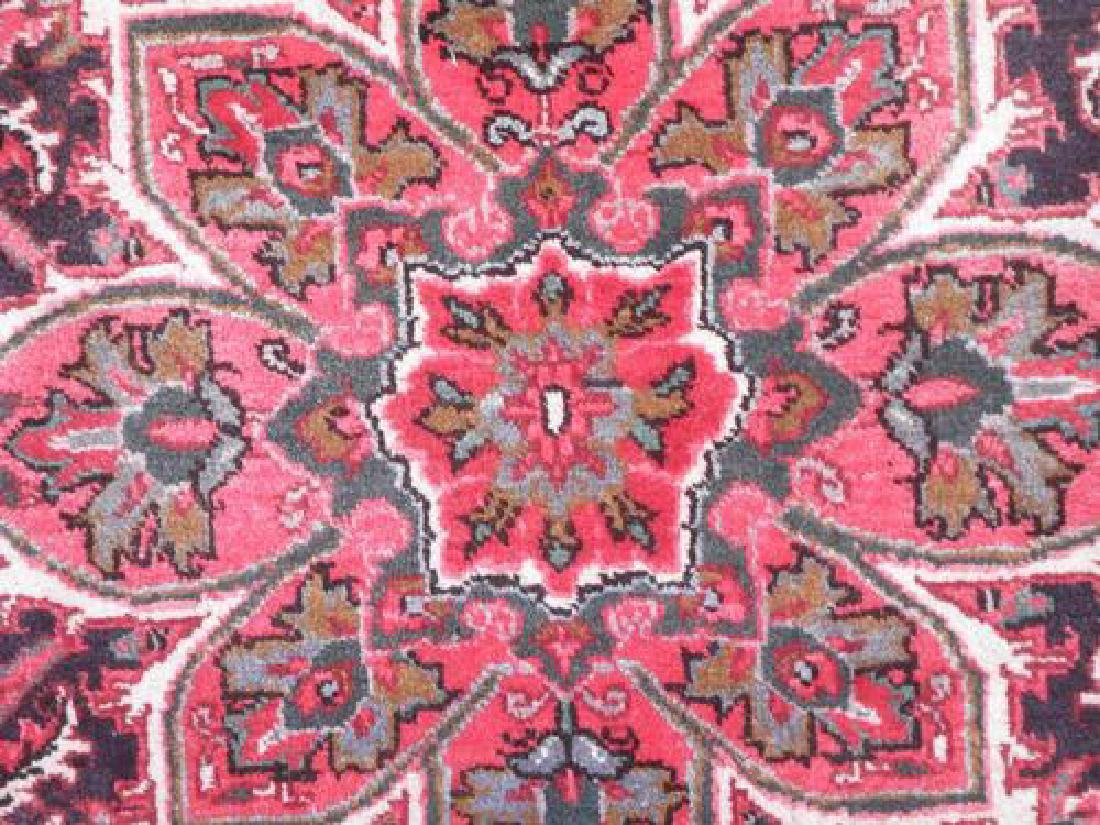 Collectible Sharabian Design Semi Antique Persian Heriz - 4