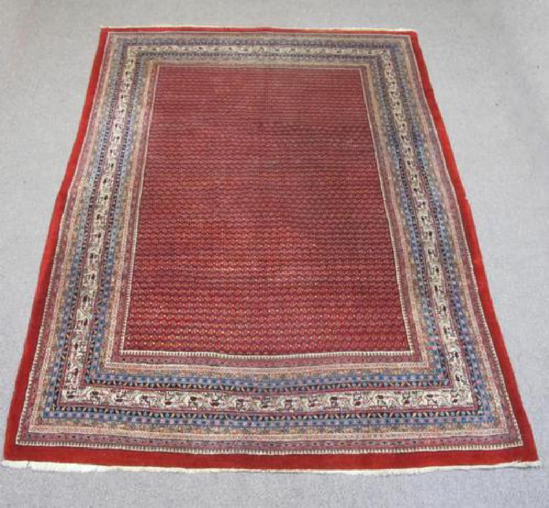 Spectacular Masterpiece Semi Antique Persian Sarouk Mir