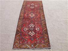 Simply Beautiful Fine Quality Persian Tabriz Runner 11'