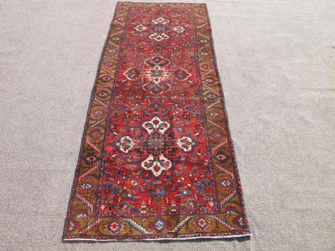 Simply Beautiful Fine Quality Persian Tabriz Runner 11'