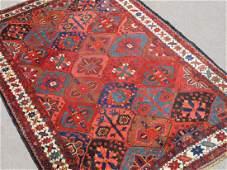 Stunning Hand Woven Semi Antique Persian Bakhtiari Rug
