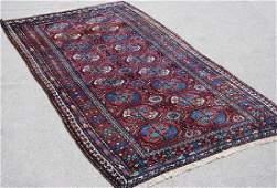 Splendid Dark Toned Handmade Semi Antique Persian
