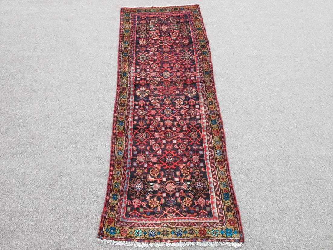 Simply Beautiful Semi Antique Persian Malayer Rug 9ft