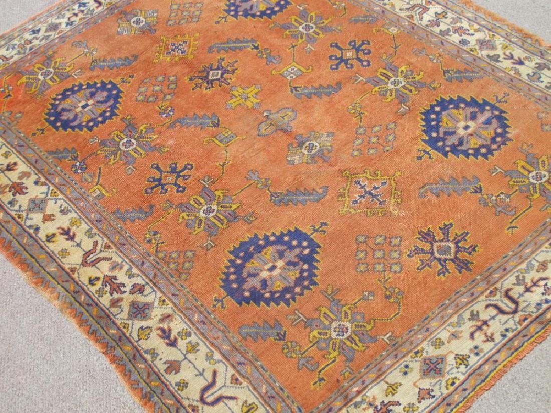 Magnificent Antique Circa 1900 Wool on Wool Turkish - 2