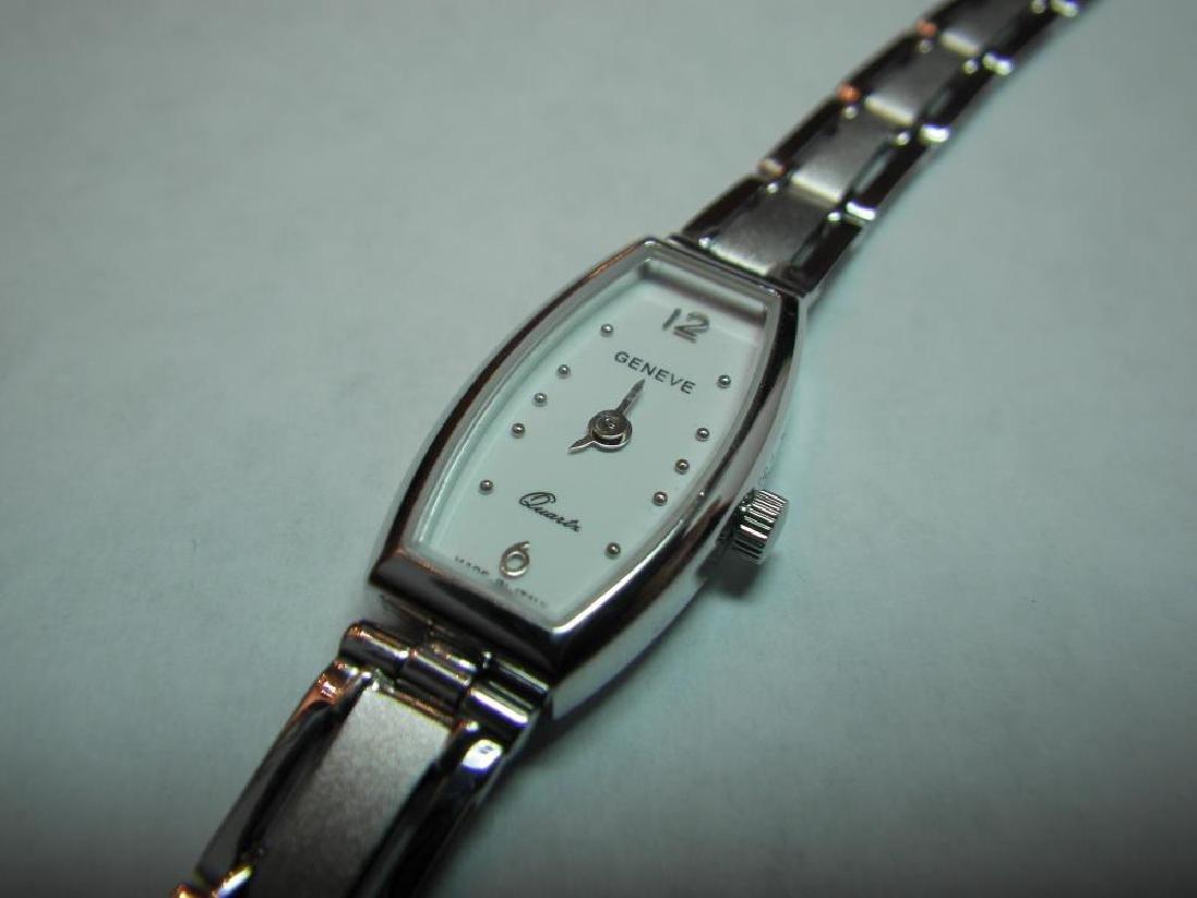 18 Karat Gold Swiss Made Geneva Watch - 3