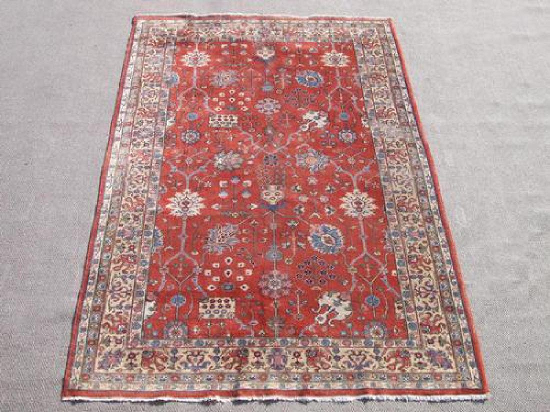 Gorgeous Nice Colors  Semi Antique Allover Turkish Rug