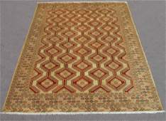 Finely Knotted Delicate Persian Turkmen 131x910