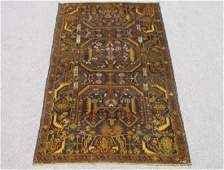 Gorgeous Semi Antique Wool on Wool Persian Balooch 6x4
