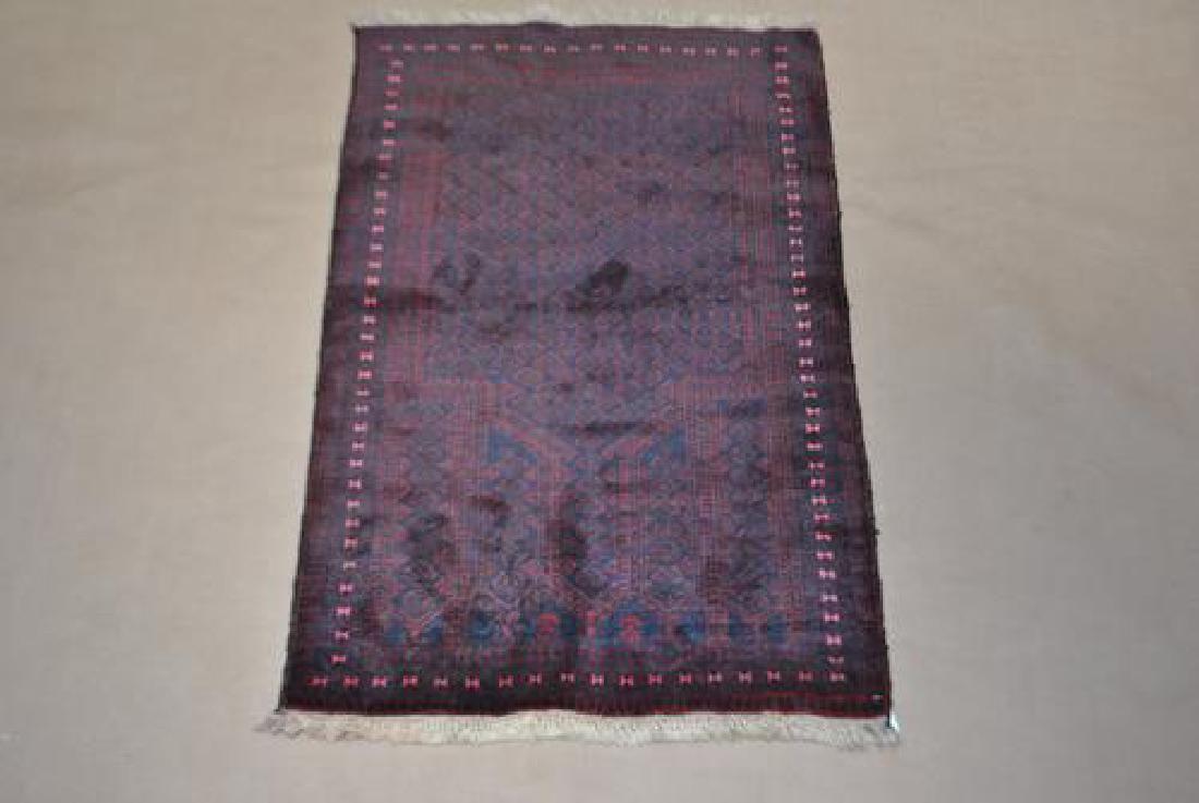 Fascinating SemiAntique Persian Balouch 211 x 49