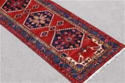 Handmade Fine Quality Persian Geometric Malayer