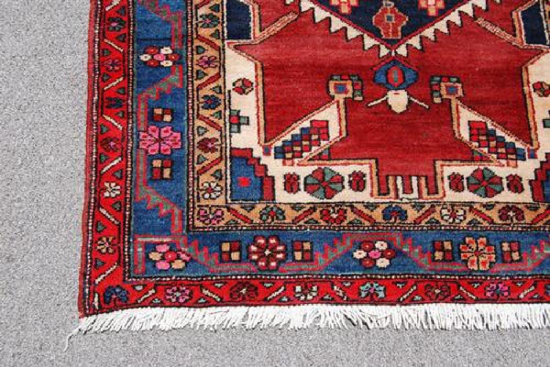 Handmade Fine Quality Persian Geometric Malayer - 4