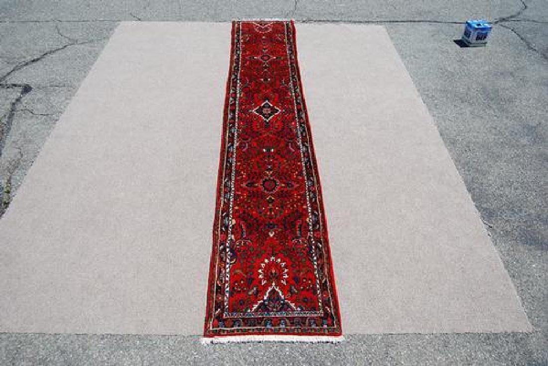 SIMPLY BEAUTIFUL FINE QUALITY PERSIAN HERIZ RUNNER - 2