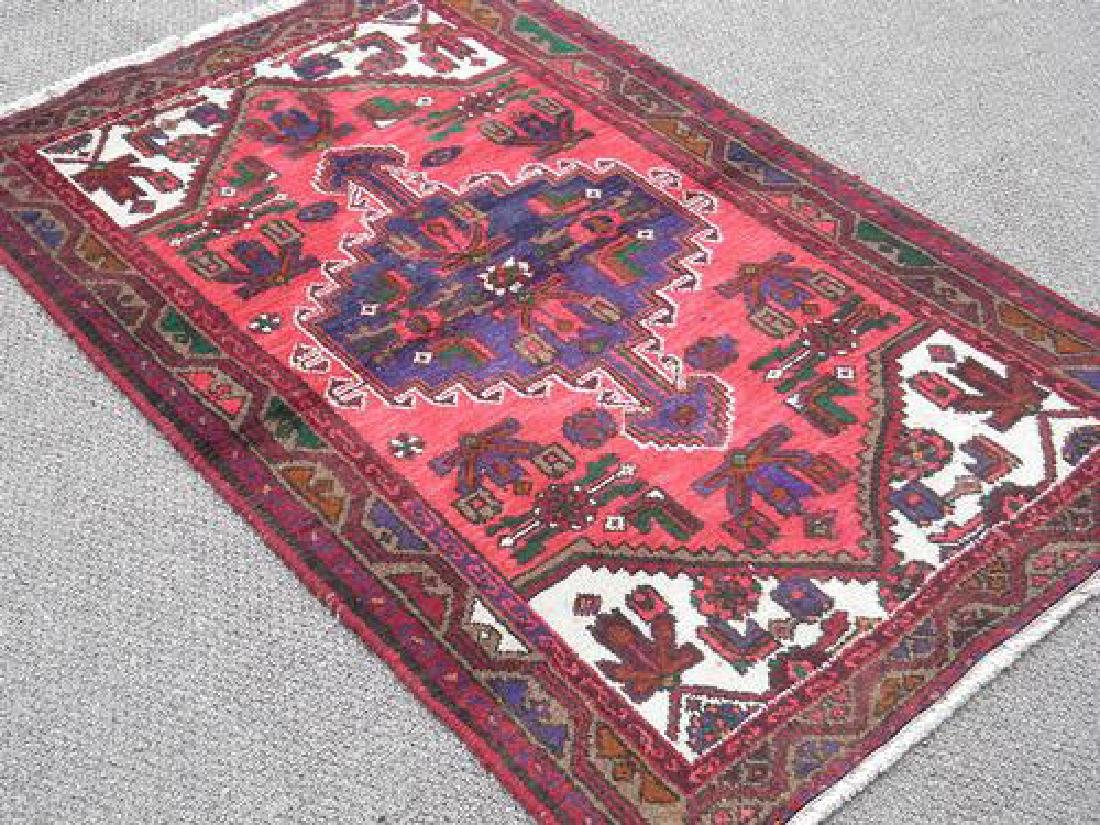 Highly Detailed Hand Woven Persian Hamadan - 2