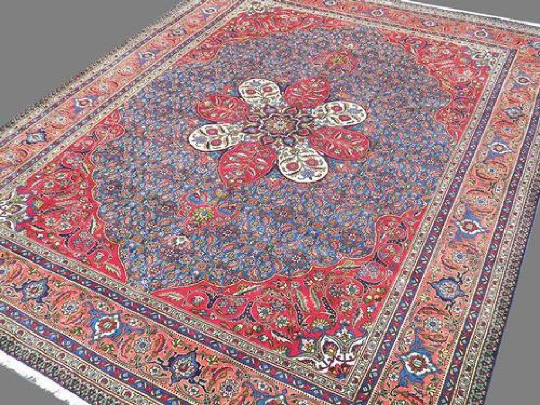 Delightful and Intricate Hand woven Persian Tabriz Rug - 2