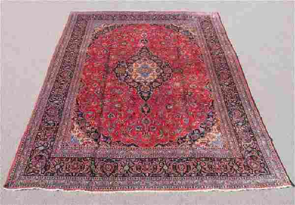 Very Collectible Semi Antique Persian Kashan 12.11x9.5