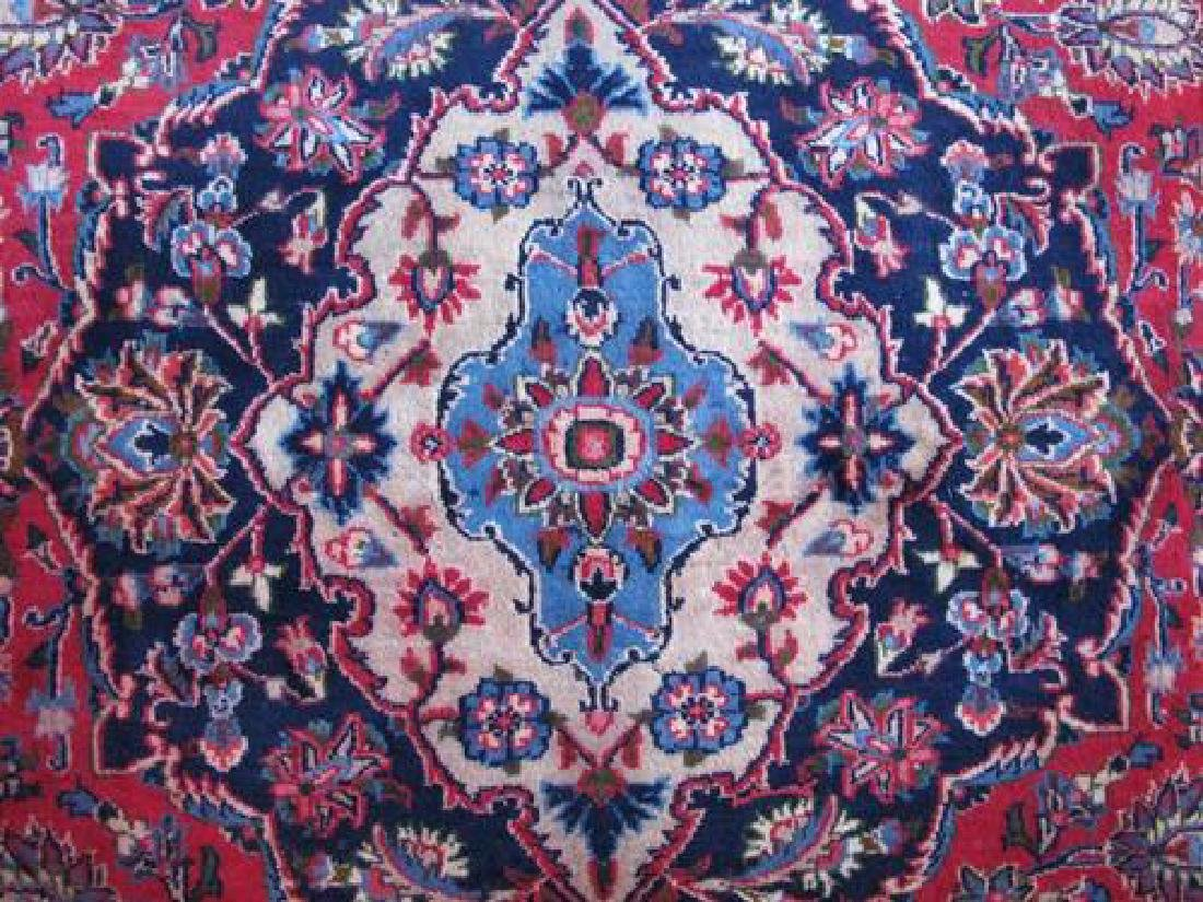 Very Collectible Semi Antique Persian Kashan 12.11x9.5 - 4
