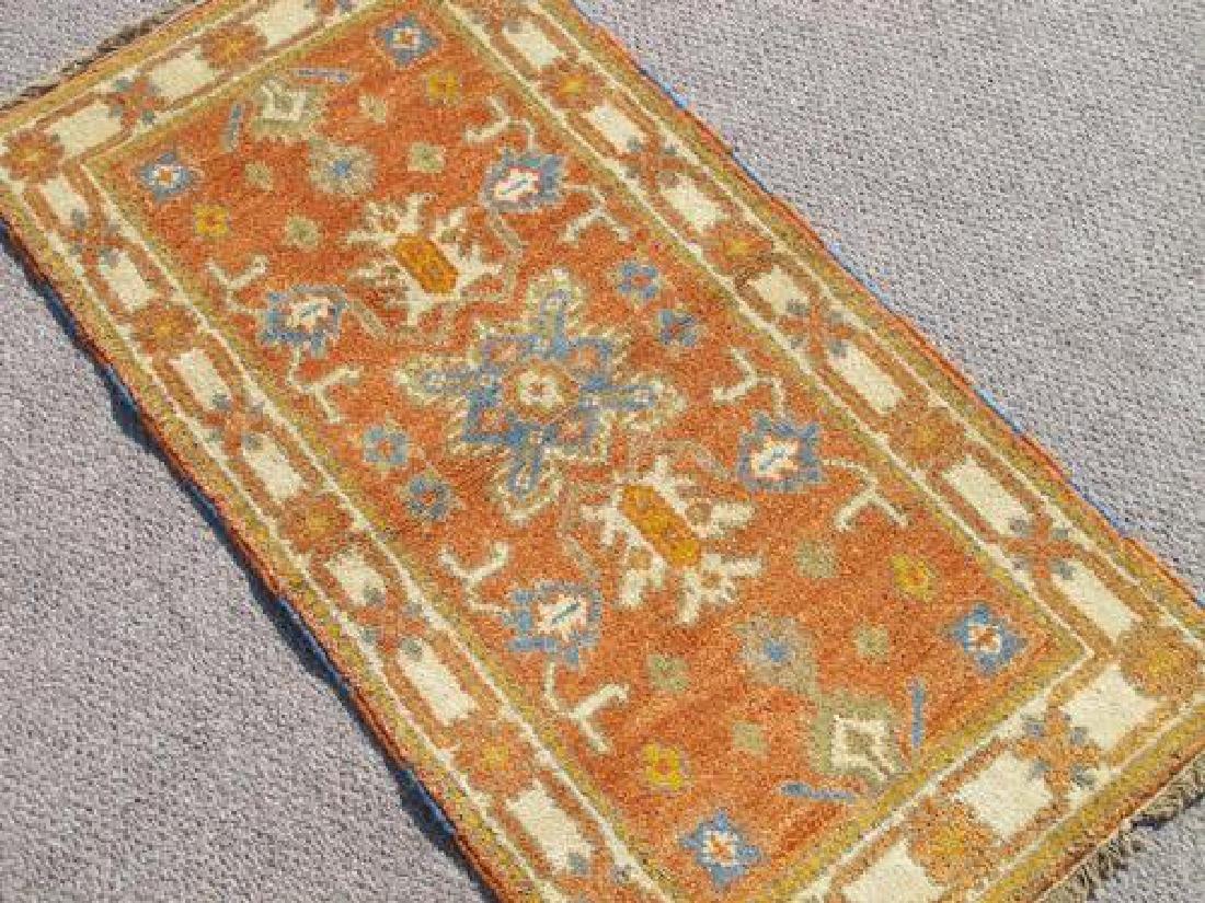 Highly Collectible Handmade Kazak Design 2x4 - 2