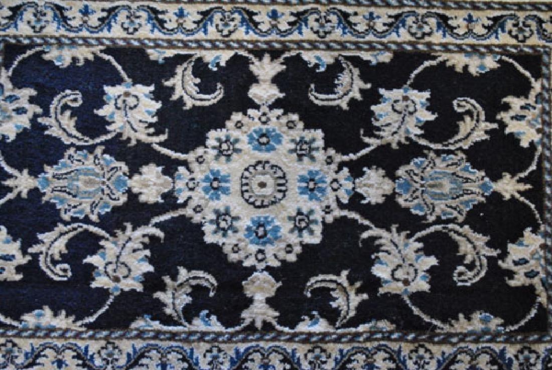Beautiful Handmade Silk Blended Persian Nain 2x3 - 2