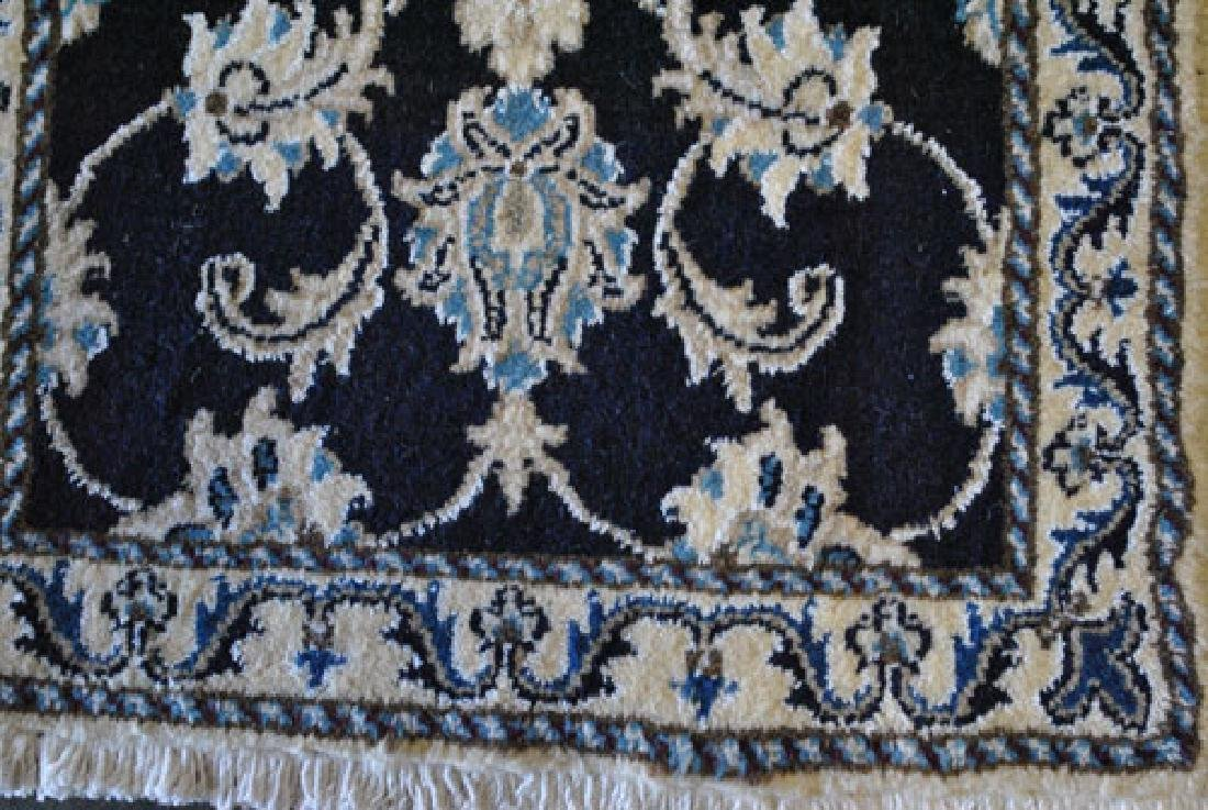 Beautiful Handmade Silk Blended Persian Nain 2x3 - 3