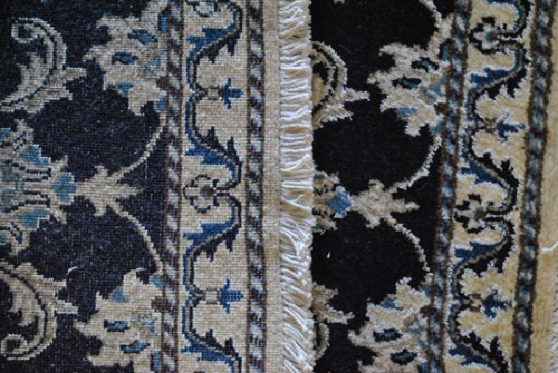 Beautiful Handmade Silk Blended Persian Nain 2x3 - 4