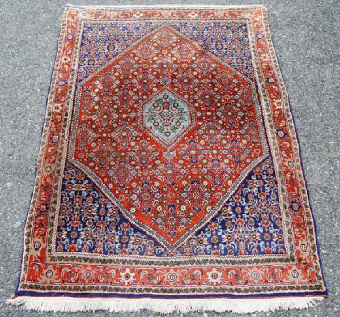 Eye Cathing Wool Persian Tribal Bidjar 5x4