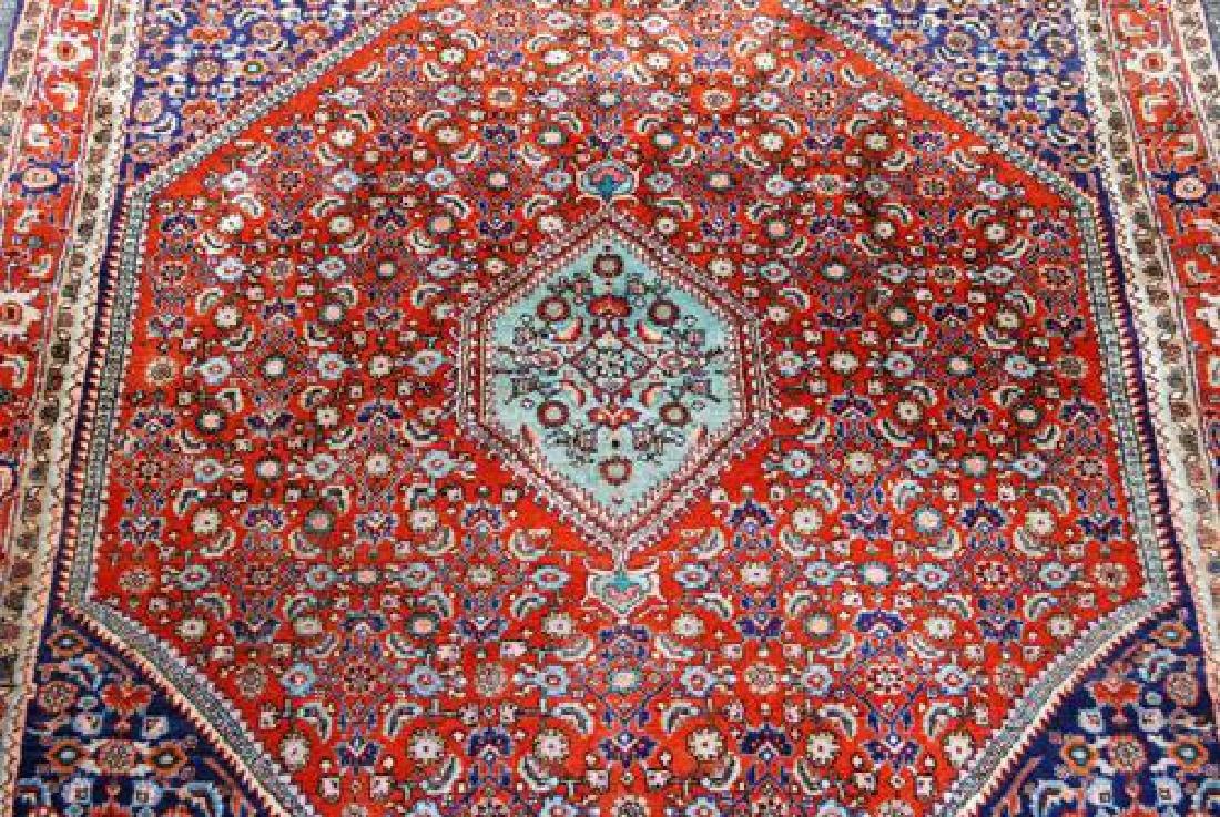 Eye Cathing Wool Persian Tribal Bidjar 5x4 - 2