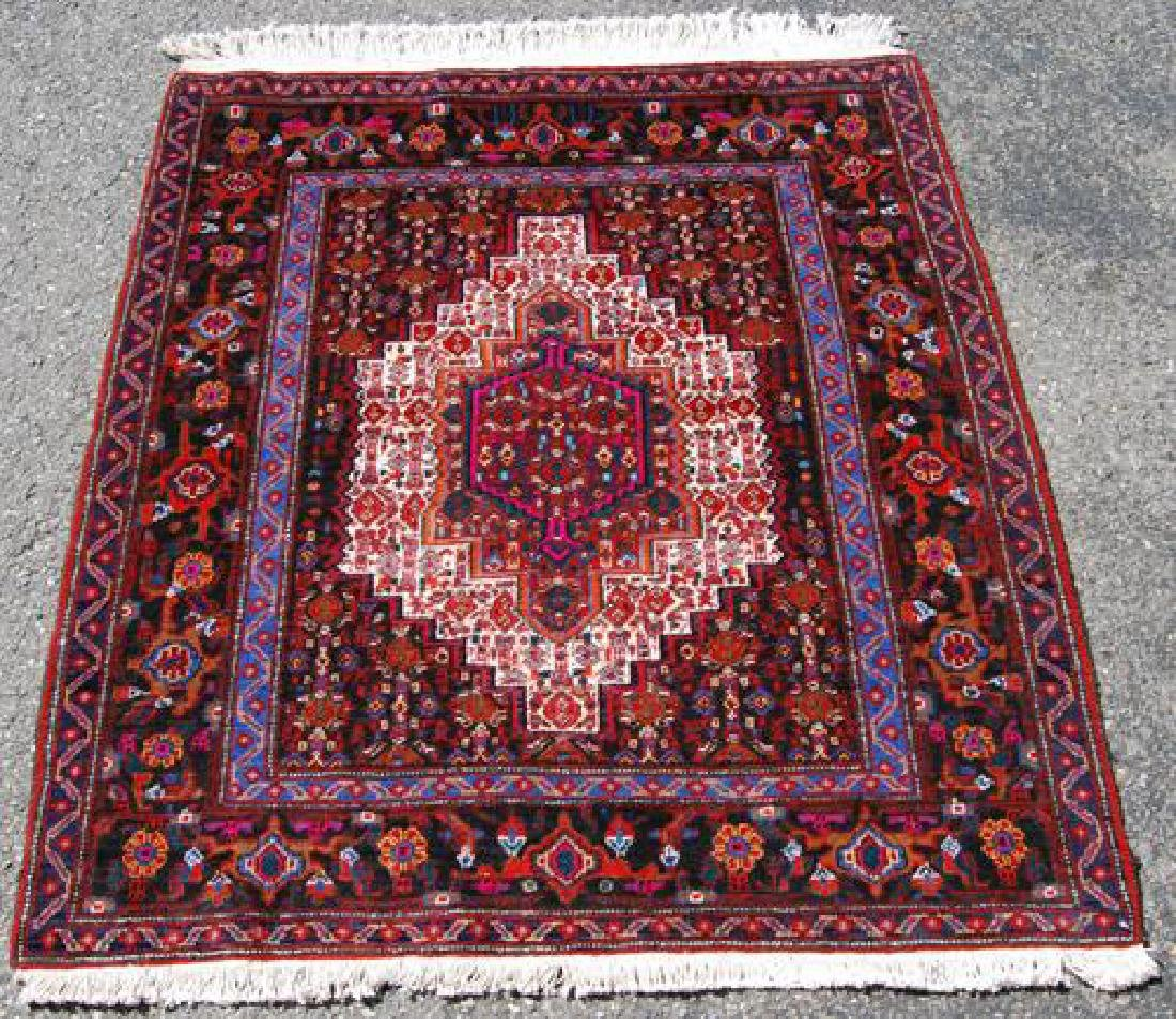 HAND WOVEN HIGHLY DETAILED SQUARE SHAPE PERSIAN