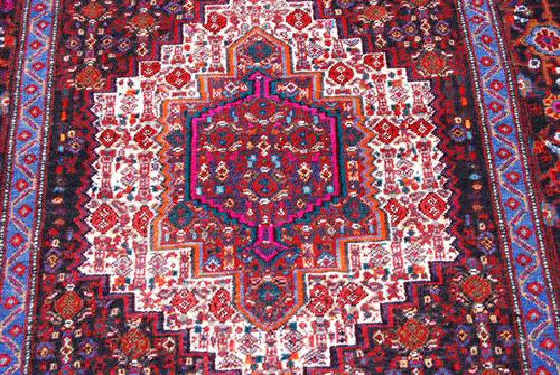 HAND WOVEN HIGHLY DETAILED SQUARE SHAPE PERSIAN - 2