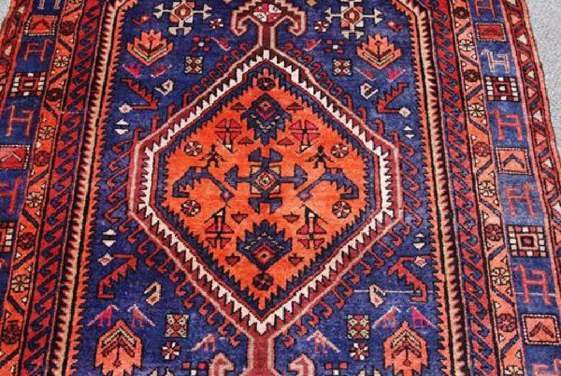 Beautiful Handmade Persian Nahavand Rug 5x9 - 2
